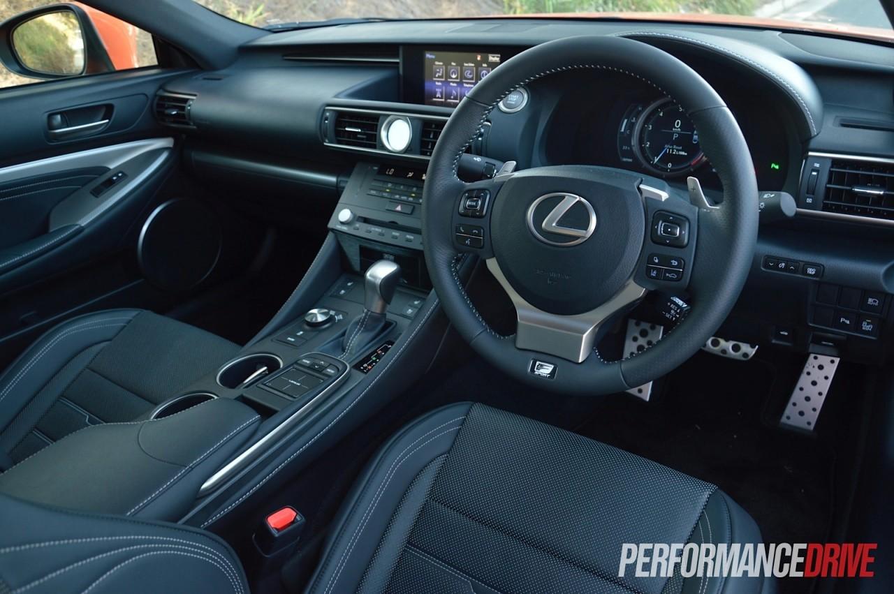 2015 Lexus RC 350 F Sport review (video)   PerformanceDrive