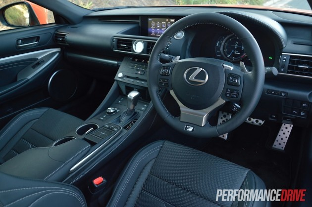 2015 Lexus RC 350 F Sport-interior
