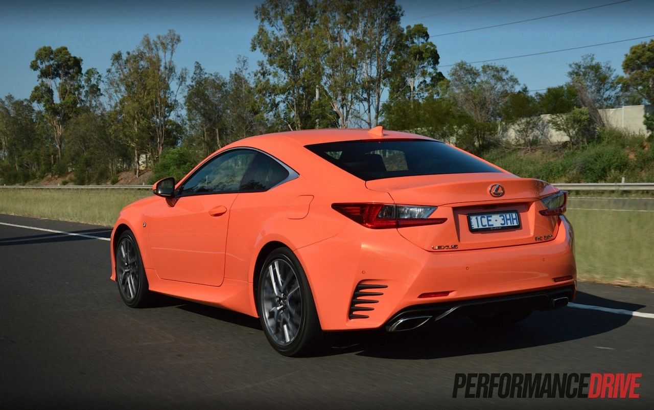 Fantastic 2015 Lexus RC 350 F Sport Review Video  PerformanceDrive