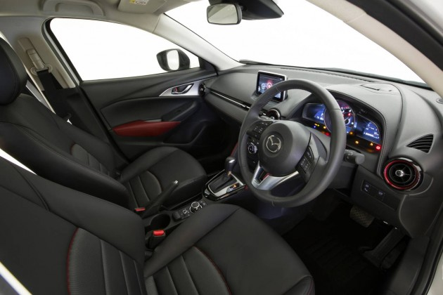 2015 Mazda CX-3 sTouring-interior