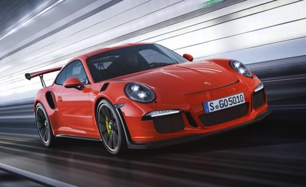 2015 Porsche 911 GT3 RS-front