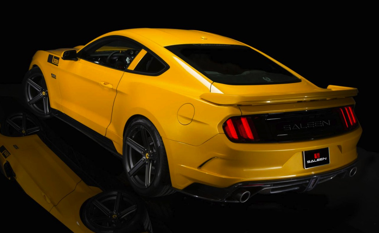 2015 saleen s302 black label mustang revealed performancedrive. Black Bedroom Furniture Sets. Home Design Ideas