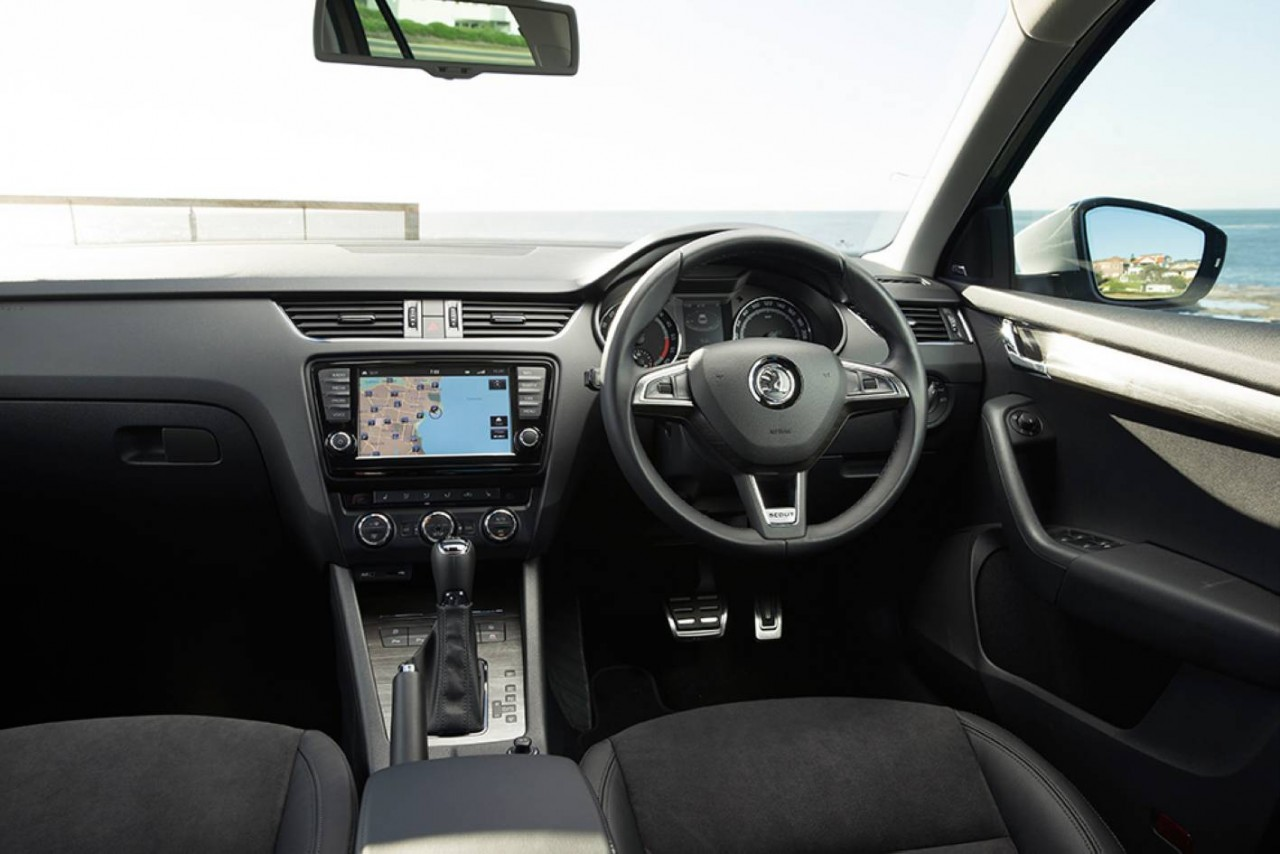 2015 skoda octavia scout 4x4 on sale in australia from for Skoda octavia interior