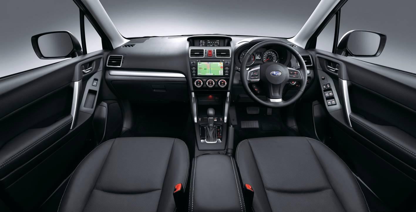 Elegant 2015 Subaru forester Interior