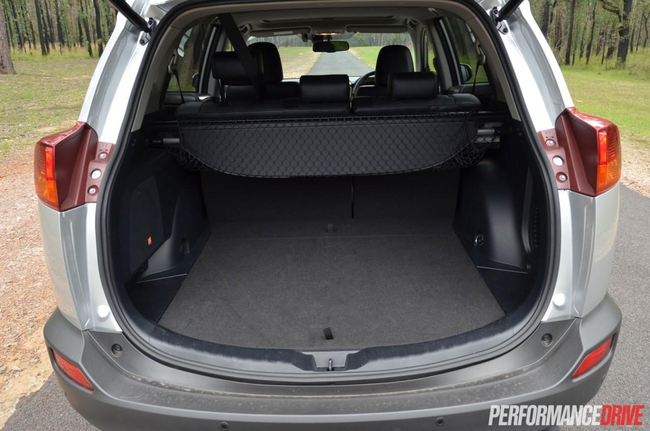 Toyota Rav4 Trunk Space >> 2015 Toyota RAV4 Cruiser diesel review (video) | PerformanceDrive