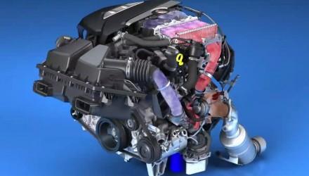 2016 Cadillac CT6 V6 engine