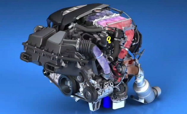 Cadillac Ct V Engine X