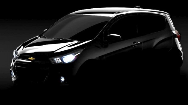 2016 Chevrolet Spark preview
