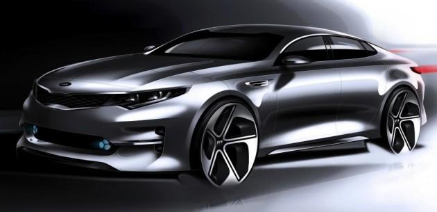 2016 Kia Optima concept