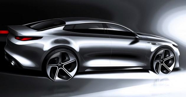 2016 Kia Optima concept-rear