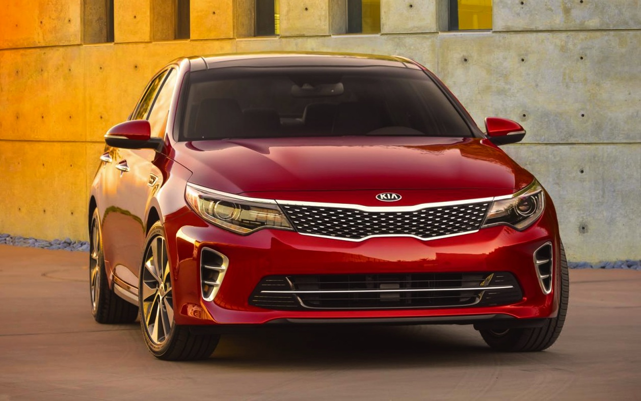 first 2016 kia optima image revealed before new york debut performancedrive. Black Bedroom Furniture Sets. Home Design Ideas