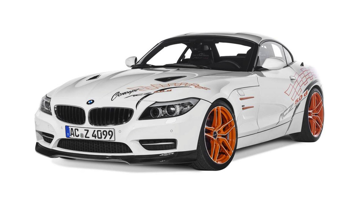 AC Schnitzer BMW Z4 5 0d has 3 0L tri turbo sel conversion