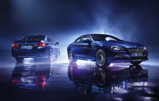 Alpina B5 and B6 Edition 50