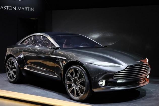 Aston Martin DBX-2015 Geneva