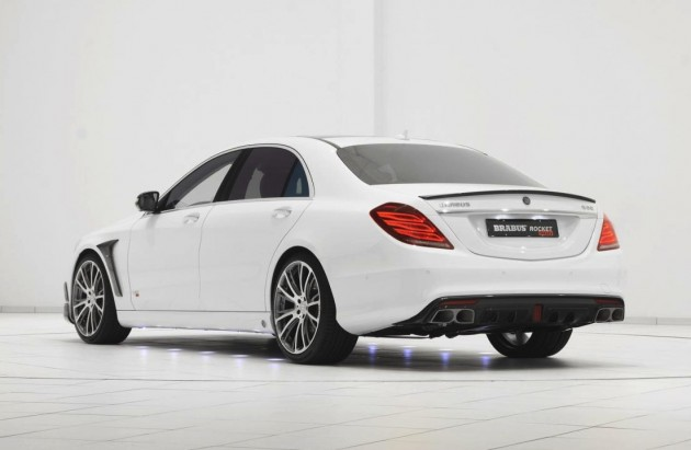 BRABUS Rocket 900 Mercedes S 65 AMG-rear