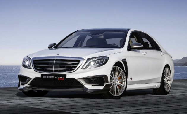 BRABUS Rocket 900 Mercedes S 65 AMG-white