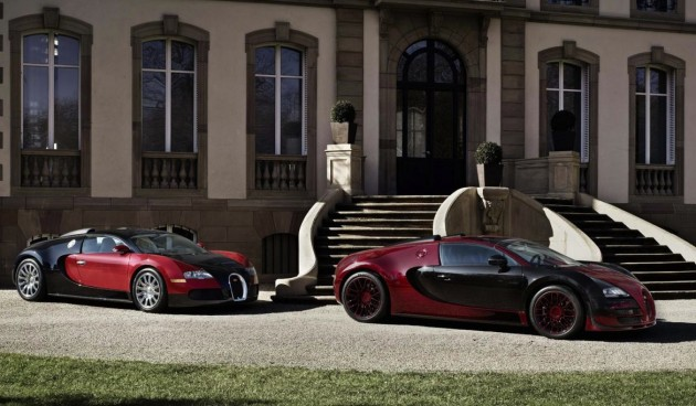 Bugatti Veyron Grand Sport Vitesse La Finale and 1st Veyron