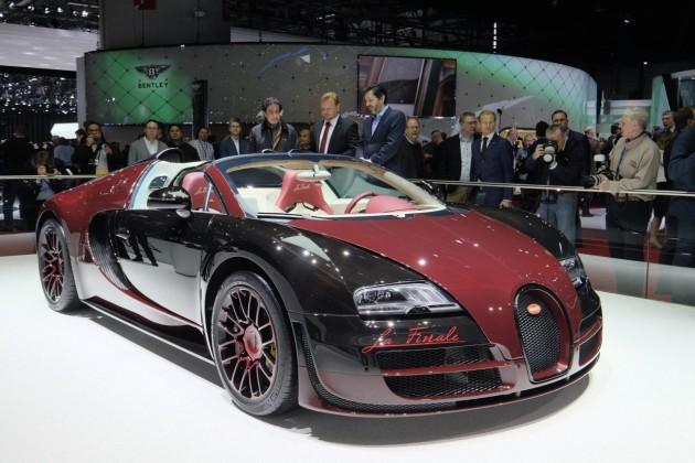 Bugatti Veyron Vitesse La Finale-2015 Geneva