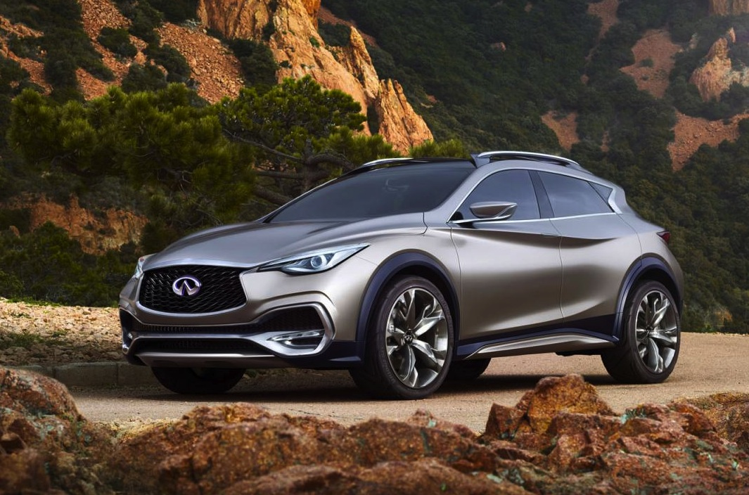 infiniti qx30 concept revealed will go on sale in 2016 performancedrive. Black Bedroom Furniture Sets. Home Design Ideas