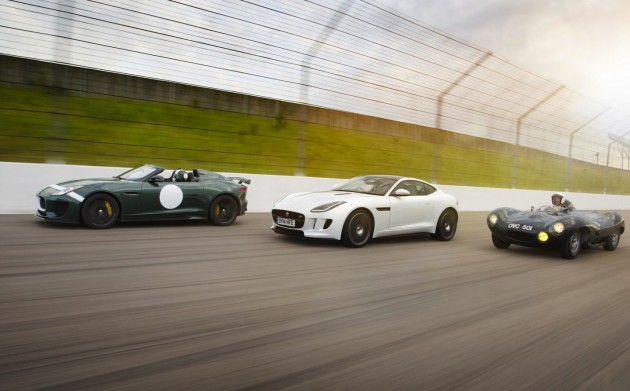 Jaguar-F-Type and Project-7-with-D-Type