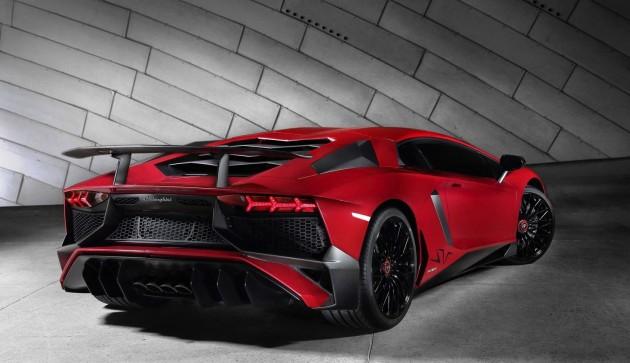 Lamborghini Aventador 750-4 Superveloce-rear