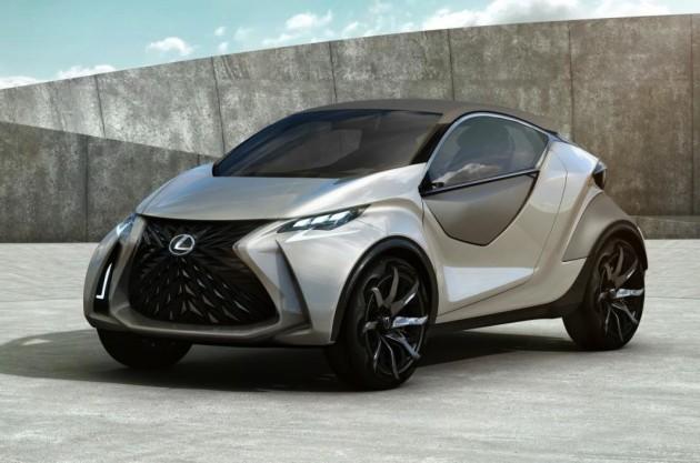 Lexus LF-SA concept-side