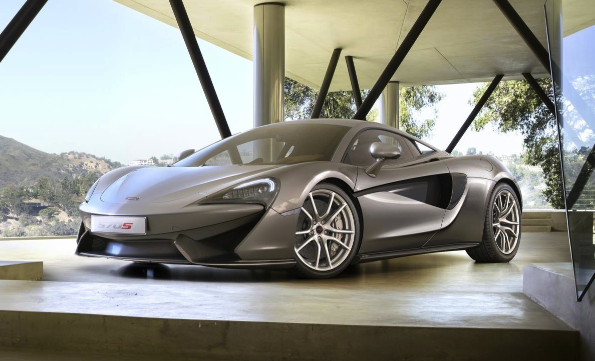 McLaren 570S Revealed, New 'entry-level' Supercar