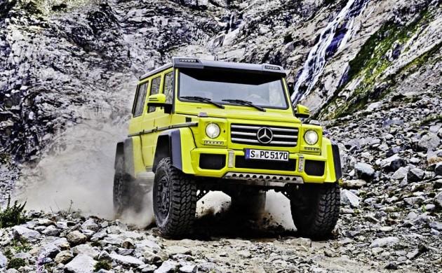 Mercedes-Benz G 500 4x4 concept