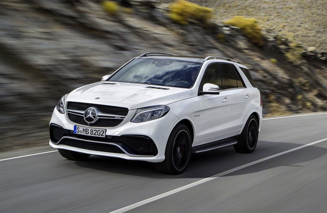 mercedes benz gle revealed as ml class replacement. Black Bedroom Furniture Sets. Home Design Ideas