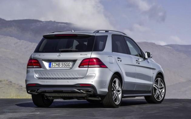 Mercedes-Benz GLE-rear