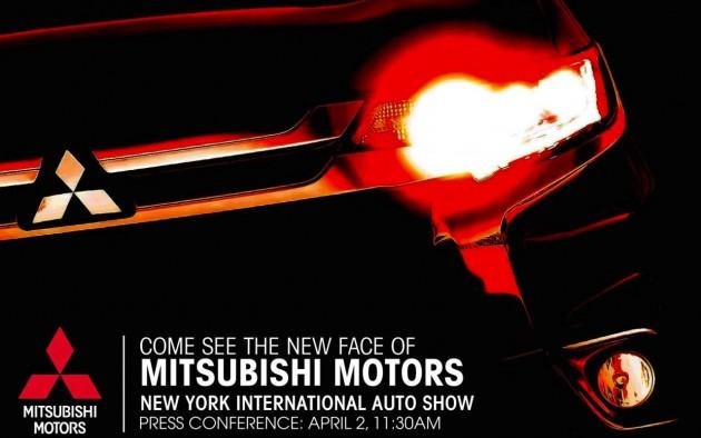 Mitsubishi 2015 New York Auto Show