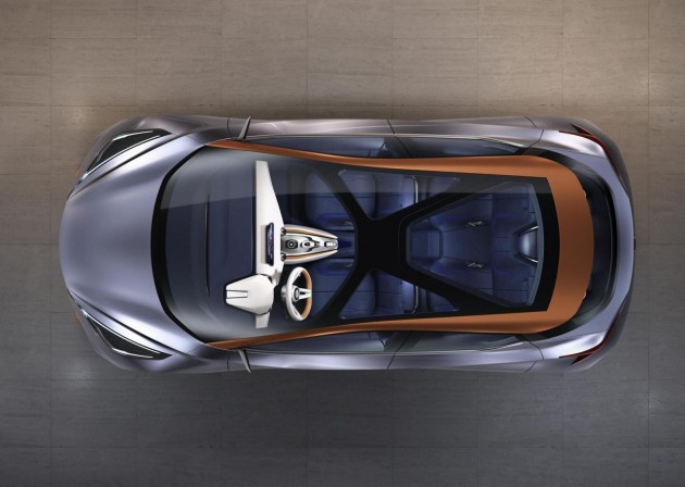 Nissan Sway concept-roof