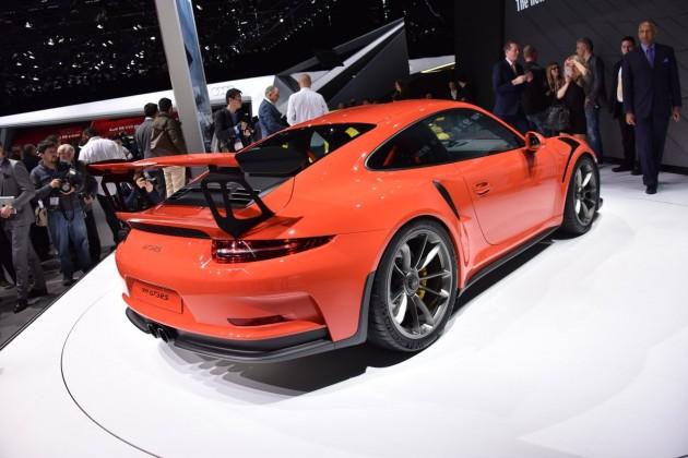 Porsche 911 GT3 RS-2015 Geneva