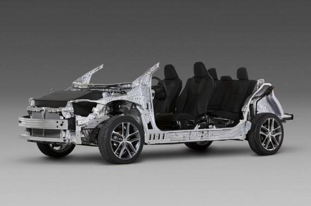 Toyota TNGA architecture