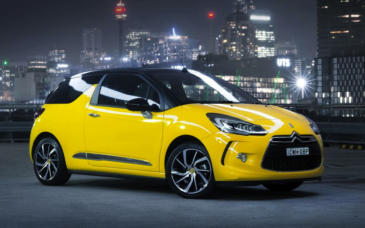 2015 citroen ds3 on sale from 33 990 new 121kw engine. Black Bedroom Furniture Sets. Home Design Ideas