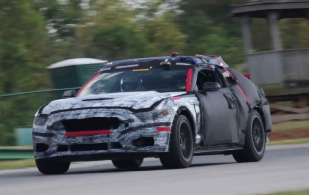 2015 Ford Mustang GT350 prototype