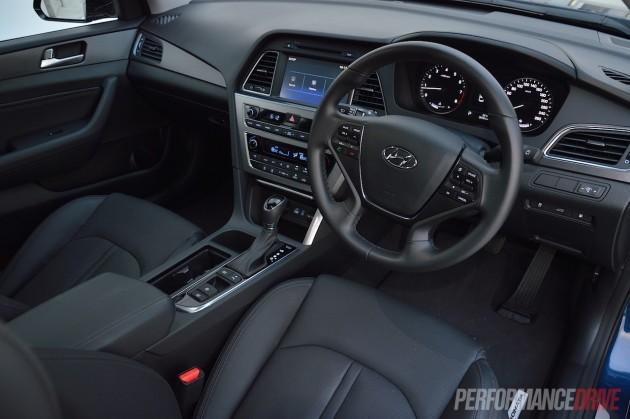 2015 Hyundai Sonata Premium-interior