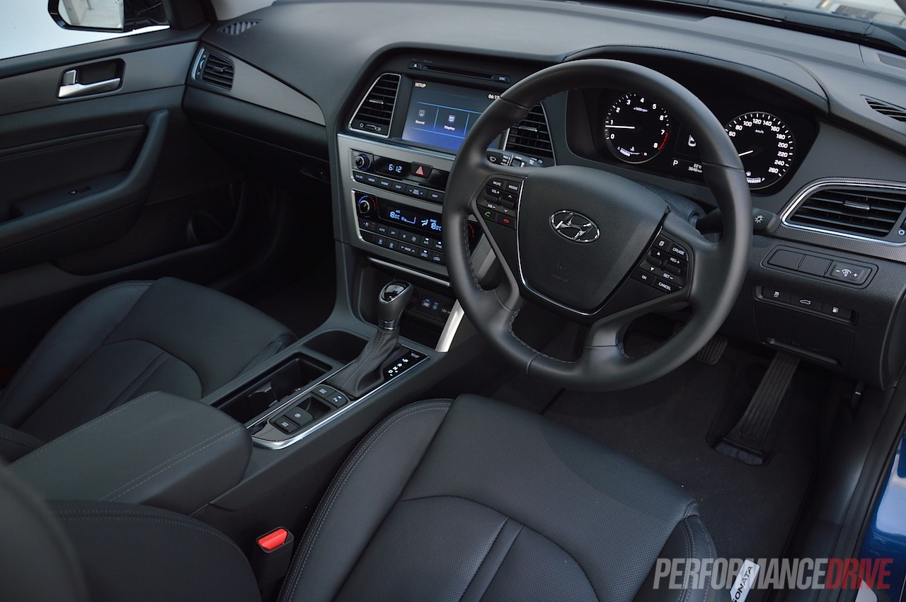 2015 Hyundai Sonata Premium 2 0t Review Video Performancedrive