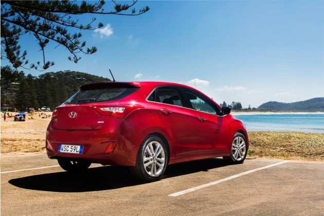 2015 Hyundai i30 Series II rear