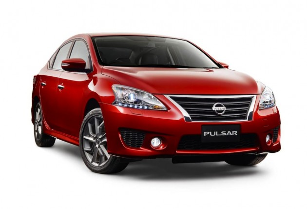 2015 Nissan Pulsar Series II SSS sedan Australia