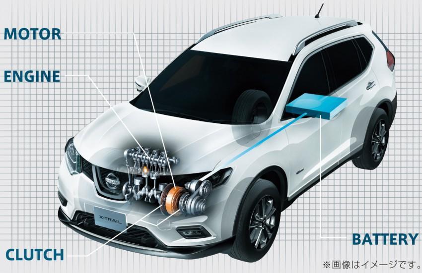 2015 nissan x trail hybrid announced for japanese market. Black Bedroom Furniture Sets. Home Design Ideas