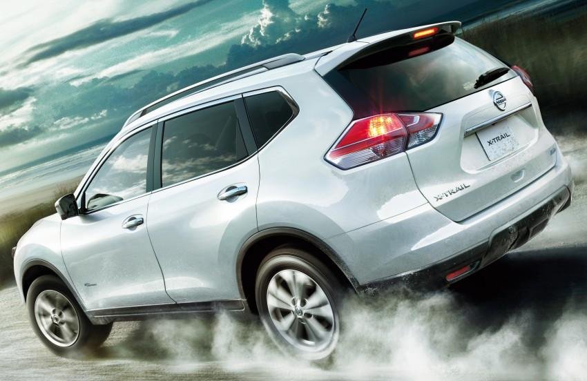 2015 nissan x trail hybrid announced for japanese market. Black Bedroom Furniture Sets. Home Design Ideas