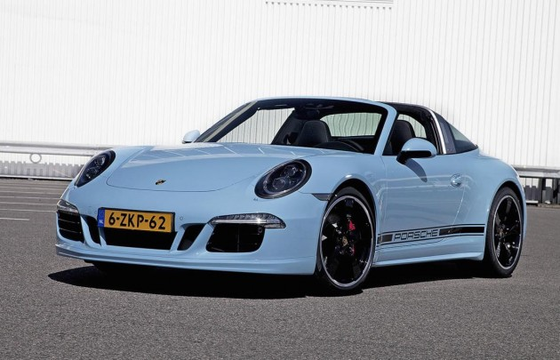 2015 Porsche 911 Targa 4S Exclusive Edition-front