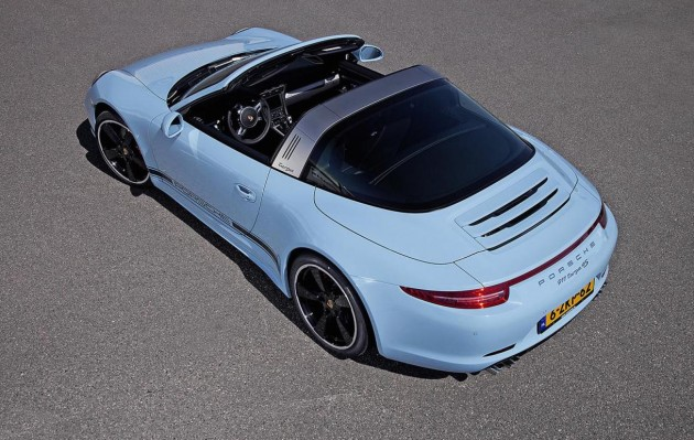 2015 Porsche 911 Targa 4S Exclusive Edition-rear