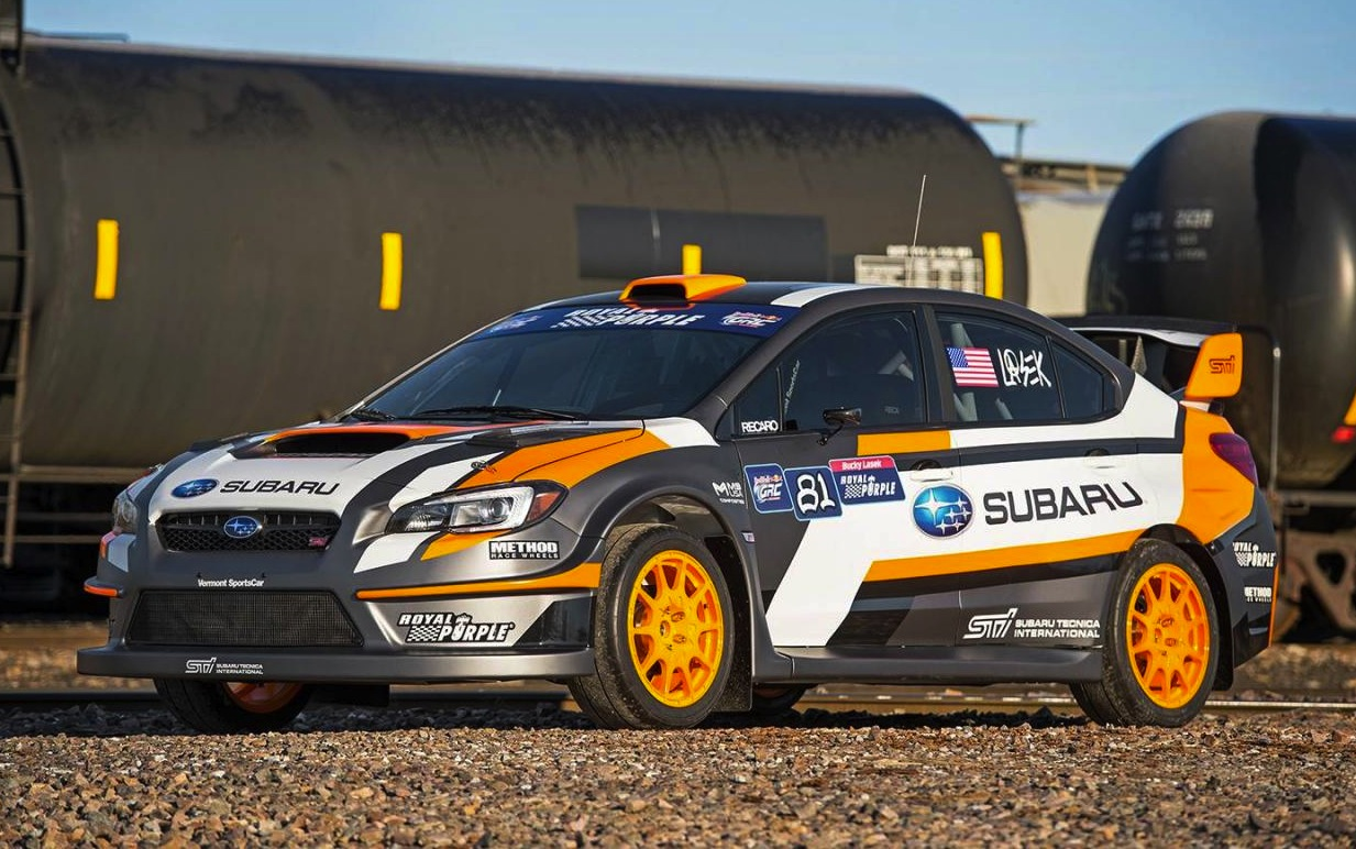 2015 subaru wrx sti 39 vt15x 39 rallycross racer revealed performancedrive. Black Bedroom Furniture Sets. Home Design Ideas
