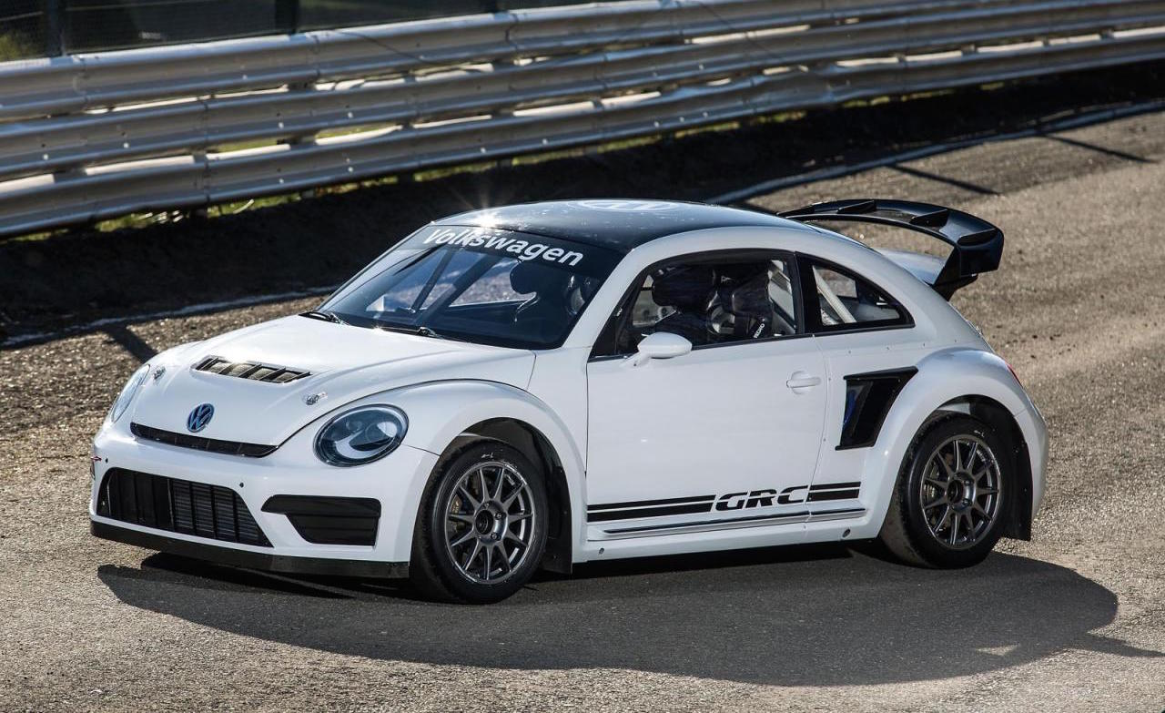 volkswagen reveals more potent 2015 beetle rallycross car performancedrive. Black Bedroom Furniture Sets. Home Design Ideas