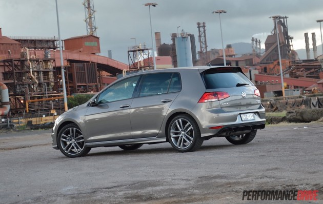 2015 Volkswagen Golf 110TDI R-Line-rear