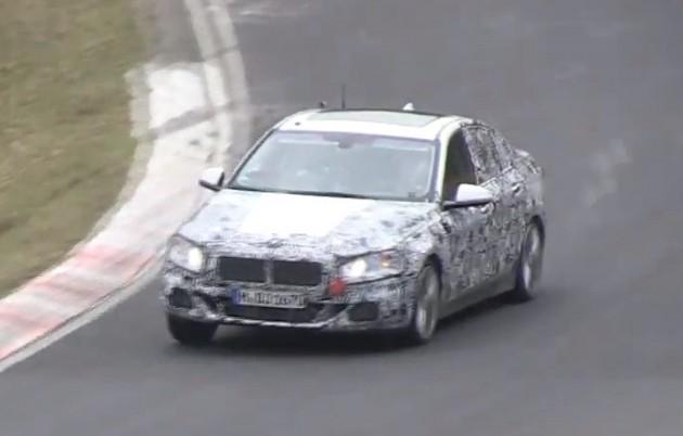 2016 BMW 1 Series FWD prototype