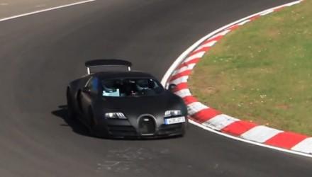 2016 Bugatti Veyron-Chiron prototype
