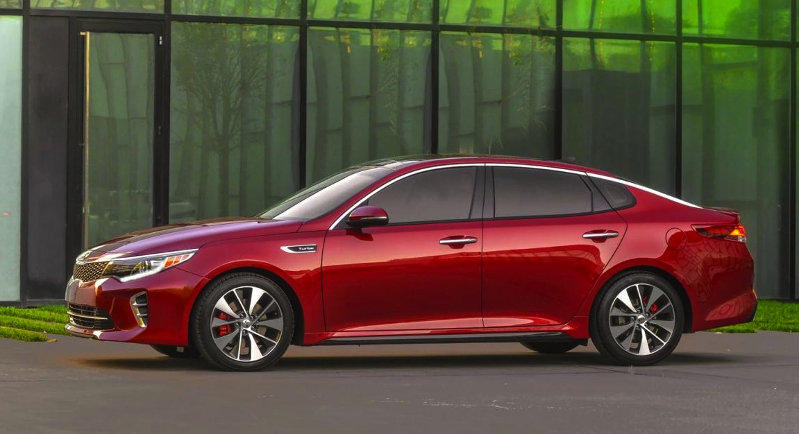 2016 kia optima officially unveiled at new york show. Black Bedroom Furniture Sets. Home Design Ideas